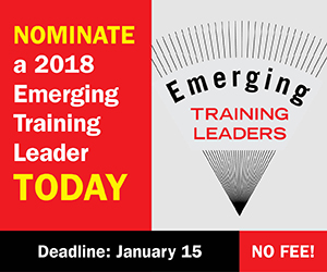 nominate an emerging trainer today